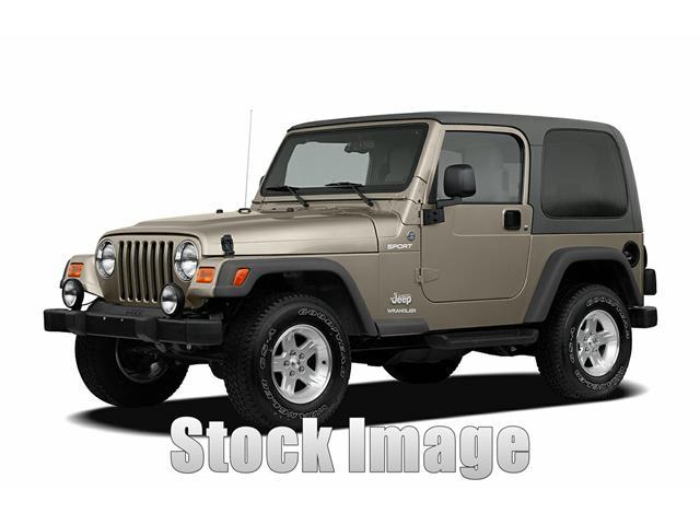 2006 Jeep Wrangler X 2dr 4x4