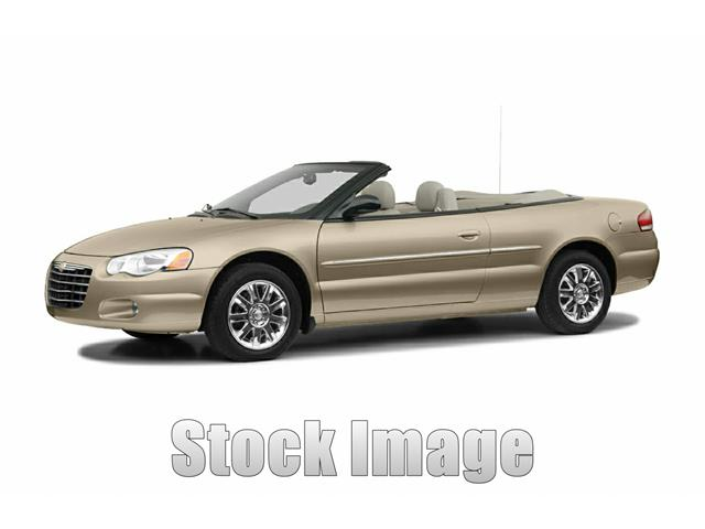 2004 Chrysler Sebring  Miles 165476Stock T123813 VIN 1C3EL55R94N123813   Text for internet pr