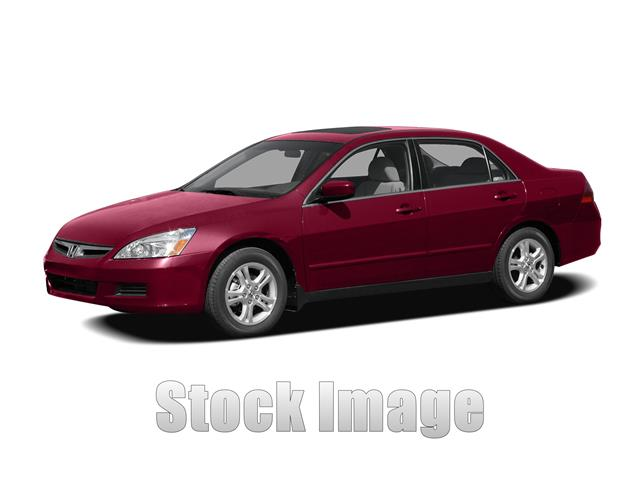 2007 Honda Accord  Miles 109724Color RED Stock TD184124 VIN 1HGCM56367A184124