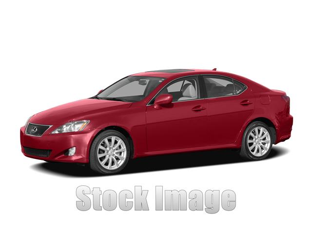 2008 Lexus IS 250 SDN SP Miles 111827Color RED Stock T072172 VIN JTHBK262785072172