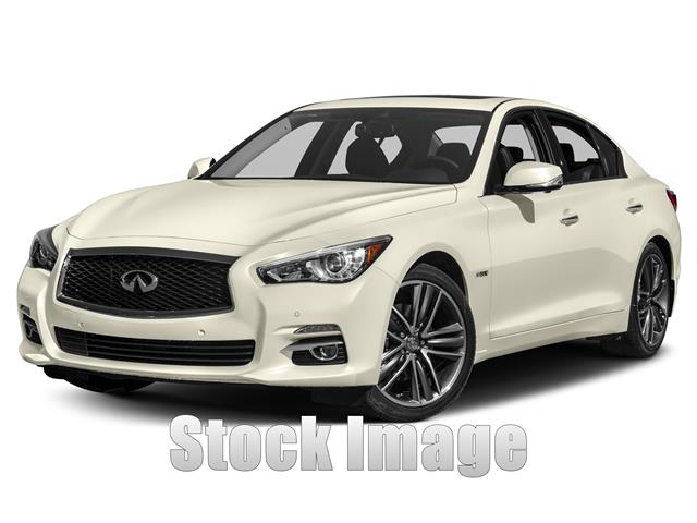 2015 Infiniti Q50 Hybrid Premium  Rear-wheel Drive Sedan Miles 0Color Moonlight Whit Stock FM7