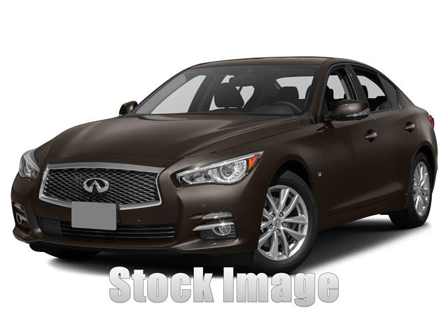 2015 Infiniti Q50 Rear-wheel Drive Sedan Miles 5Color MOONLT WHT Stock FM345310 VIN JN1BV7AP