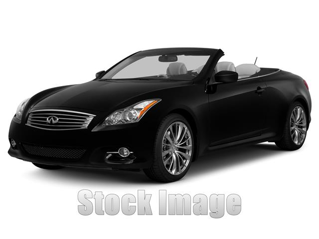 2013 Infiniti G37 Rear-wheel Drive Convertible MUST SEE  One OwnerCERTIFIED 2013 G37 Cpe wit