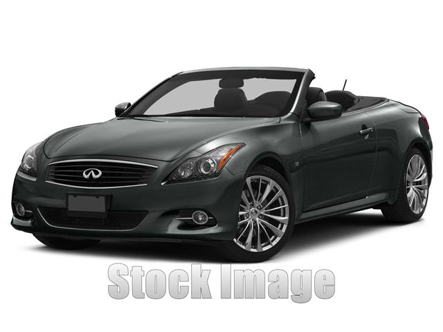 2015 Infiniti Q60 Rear-wheel Drive Convertible Miles 10000Color Graphite Shado Stock FM810223