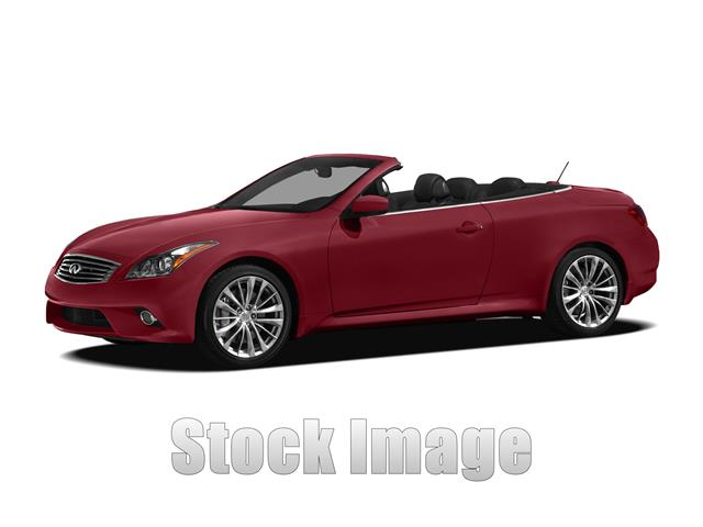 2011 Infiniti G37 Rear-wheel Drive Convertible Stunning  One Owner G37 Convertible in Spotless