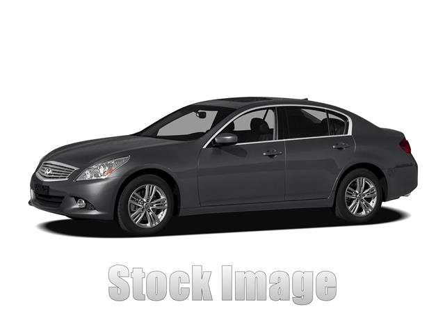 2012 Infiniti G25 Journey  Rear-wheel Drive Sedan Super Sharp LOADED Black on Black G25 CERTIF