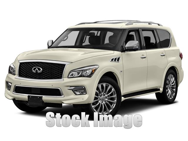 2015 Infiniti QX80 Limited  4x4 Miles 0Color Majestic White Stock F9084827 VIN JN8AZ2NE4F908
