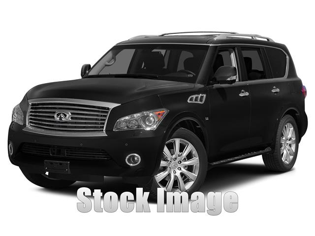 2014 Infiniti QX80 4x2 Cruise in comfort with heated seats and rear air conditioning It has a 56