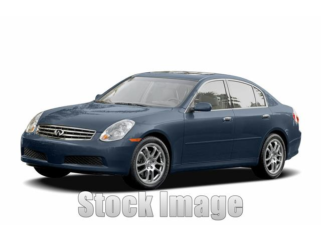 2005 Infiniti G35 Sedan Reliable Luxury G35 Sedan in XLNT Condition this Well Maintained Loca