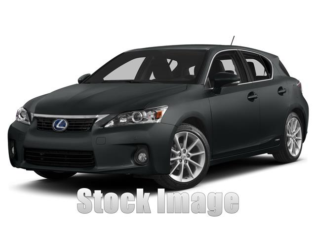 2013 Lexus CT 200h Premium  Hatchback Gorgeous Color Combo on this SpotlessONE OWNER CT200h in
